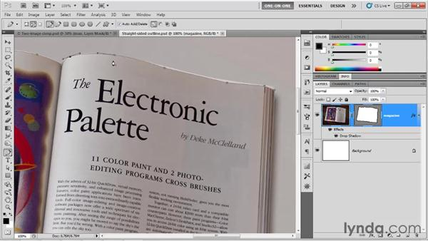 Adding and editing smooth points: Photoshop CS5 One-on-One: Mastery