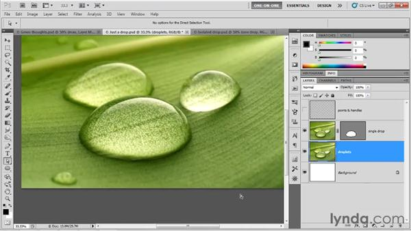 Shading an isolated object: Photoshop CS5 One-on-One: Mastery
