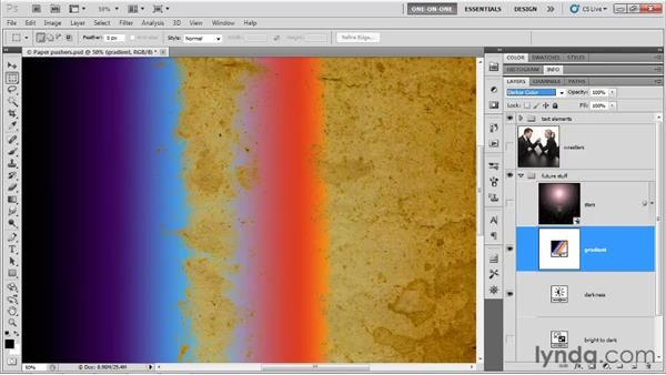 Darken and Lighten and their derivatives: Photoshop CS5 One-on-One: Mastery