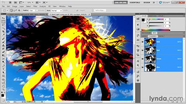 Vivid, Linear, and Pin Light (and Hard Mix): Photoshop CS5 One-on-One: Mastery