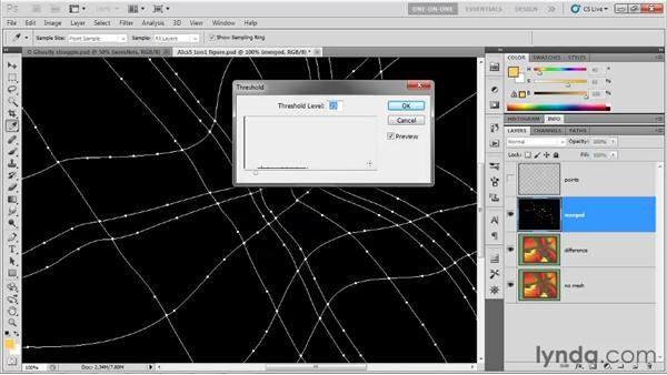 Great uses for the Difference mode: Photoshop CS5 One-on-One: Mastery