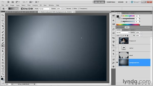 Promising uses for the Divide mode: Photoshop CS5 One-on-One: Mastery