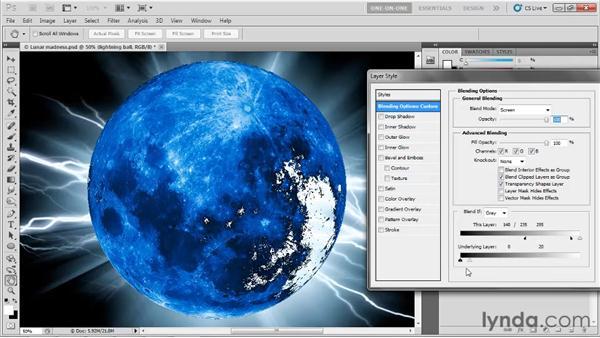 Parametric luminance masking: Photoshop CS5 One-on-One: Mastery