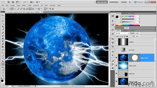 Adjusting the behavior of luminance effects: Photoshop CS5 One-on-One: Mastery