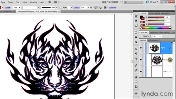Making changes in Illustrator: Photoshop CS5 One-on-One: Mastery