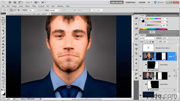 Adjusting multiple Camera Raw clones: Photoshop CS5 One-on-One: Mastery