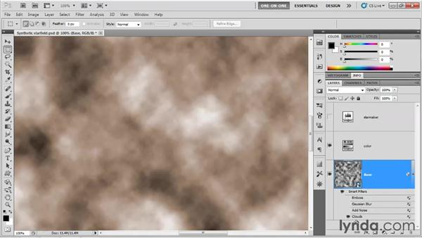 Making a stucco or drywall pattern: Photoshop CS5 One-on-One: Mastery