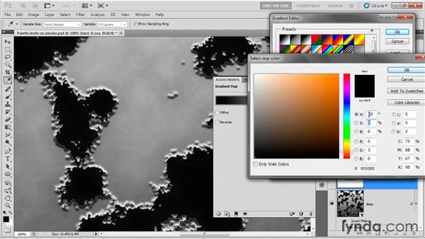 Land, sea, and clouds: Photoshop CS5 One-on-One: Mastery