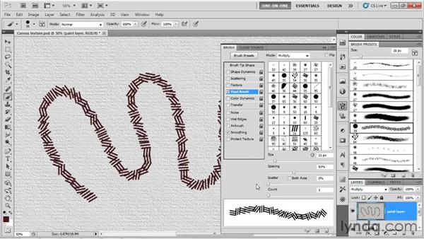 Dissecting a custom brush: Photoshop CS5 One-on-One: Mastery