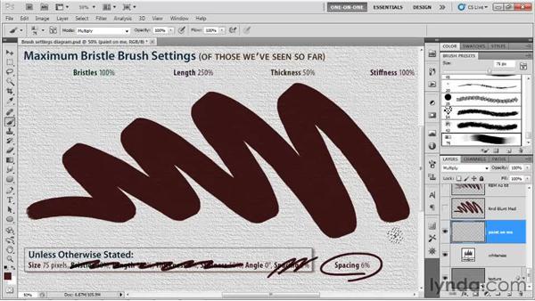 Stylus tilt and mouse behavior: Photoshop CS5 One-on-One: Mastery