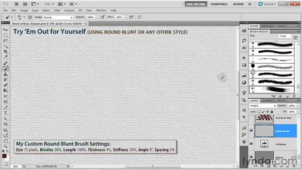 Troubleshooting a stylus: Photoshop CS5 One-on-One: Mastery