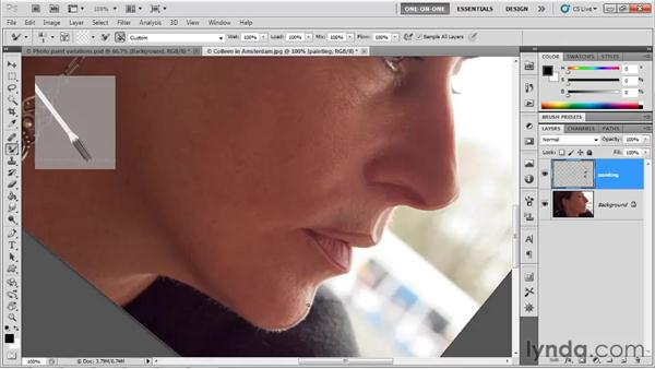 Tracing the fine details in an image: Photoshop CS5 One-on-One: Mastery