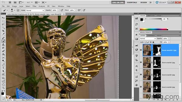 Finessing masks, accepting imperfections: Photoshop CS5 One-on-One: Mastery