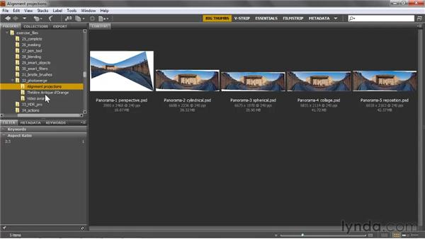 Introducing the Photomerge command: Photoshop CS5 One-on-One: Mastery