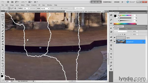 Evaluating the Layout settings: Photoshop CS5 One-on-One: Mastery