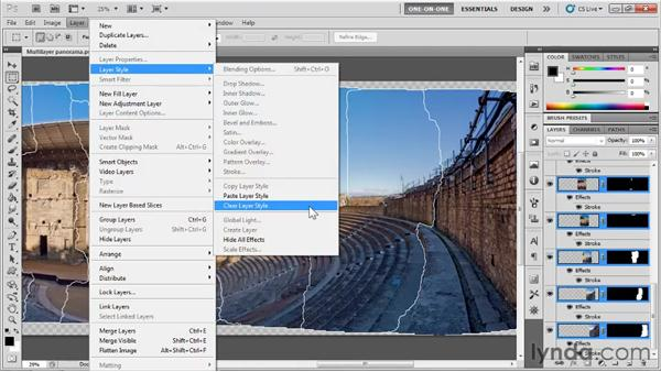 Tracing and extracting seams: Photoshop CS5 One-on-One: Mastery