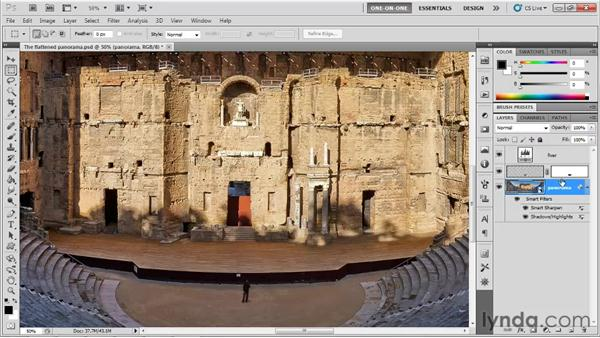 Smart Filters and nondestructive cropping: Photoshop CS5 One-on-One: Mastery