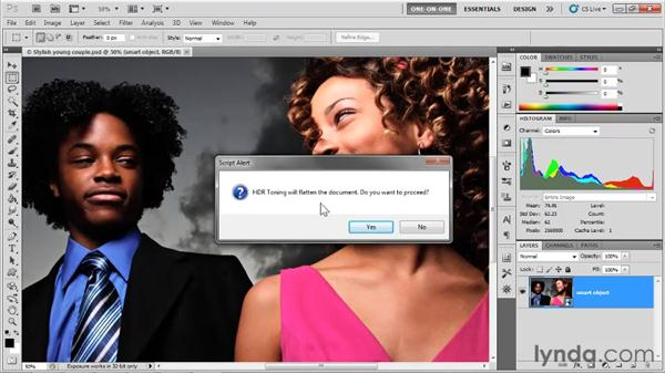 Introducing HDR Toning: Photoshop CS5 One-on-One: Mastery