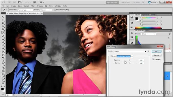 Reigning in clipped highlights: Photoshop CS5 One-on-One: Mastery