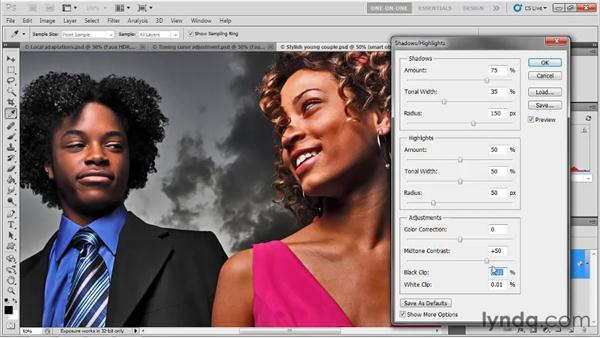 HDR Toning vs. Shadows/Highlights: Photoshop CS5 One-on-One: Mastery