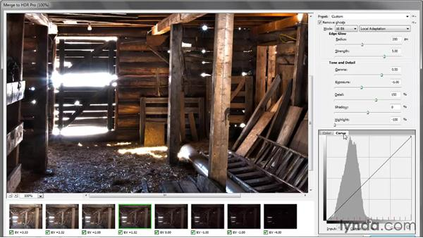 Removing ghosts, correcting backlighting: Photoshop CS5 One-on-One: Mastery