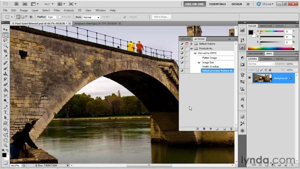 Add, Undo, and Rerecord: Photoshop CS5 One-on-One: Mastery