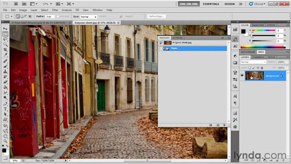 Playing and testing an action: Photoshop CS5 One-on-One: Mastery