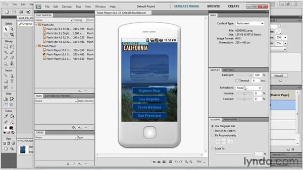 Looking at mobile apps: Fireworks CS5: Rapid Prototyping