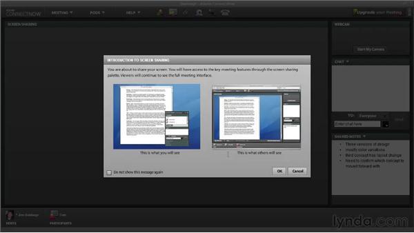 Using Share My Screen: Fireworks CS5: Rapid Prototyping
