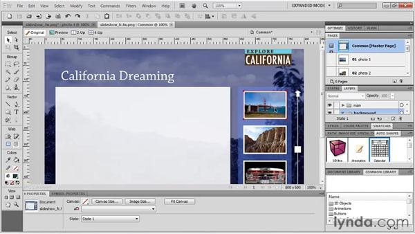 Exporting as FXG 2.0: Fireworks CS5: Rapid Prototyping