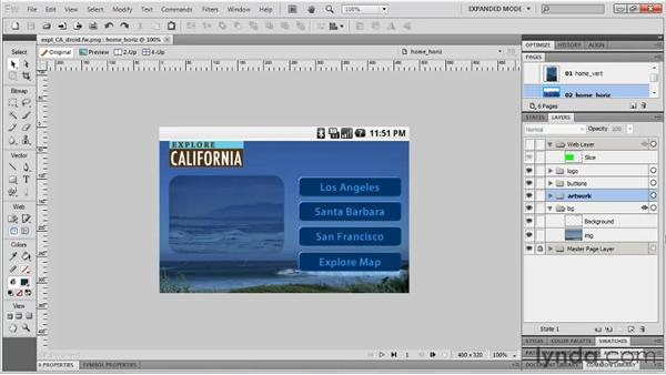 Using Fireworks for mobile design: Fireworks CS5: Rapid Prototyping
