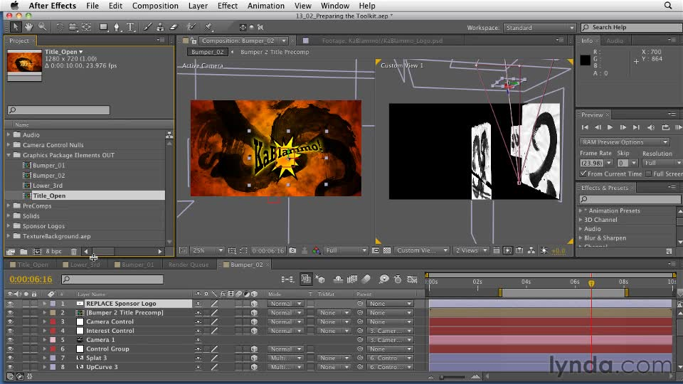 Preparing templates after effects principles of motion for After effect motion graphics templates