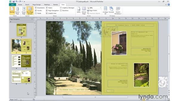 Using Undo and Redo: Publisher 2010 Essential Training