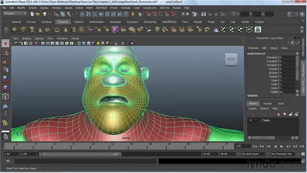 : Modeling a Character in Maya