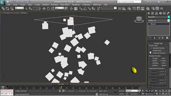 Understanding rendering and viewport redrawing: Particle Effects in 3ds Max