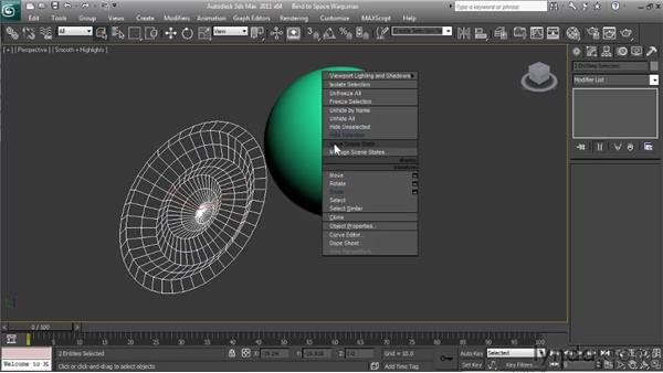 Using Bind to Space Warp: Particle Effects in 3ds Max