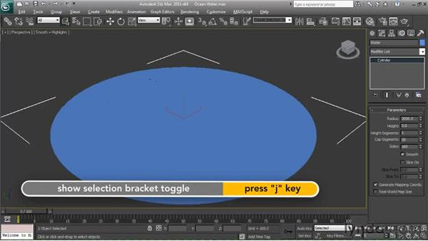 Creating the geometry and camera : Particle Effects in 3ds Max