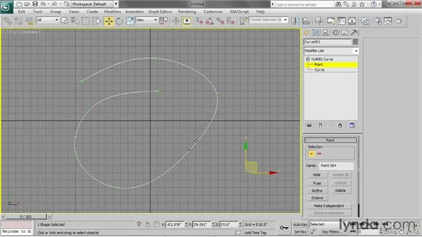 Creating the geometry: Particle Effects in 3ds Max