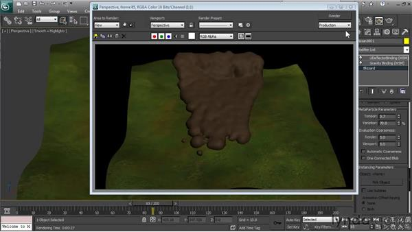 Making final adjustments: Particle Effects in 3ds Max