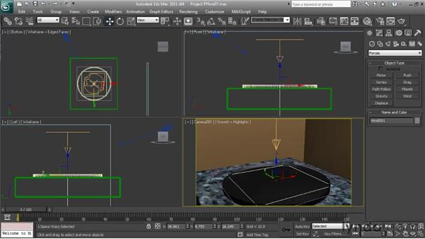 Making the final adjustments: Particle Effects in 3ds Max