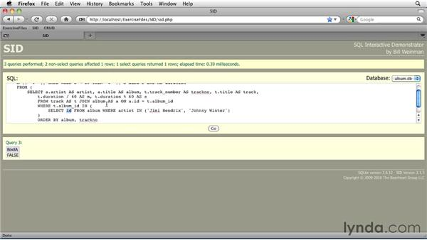 Choosing from multiple conditions with the CASE expression: SQLite 3 with PHP Essential Training