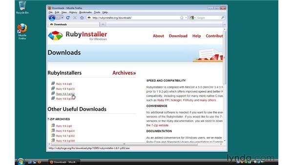 Ruby: Ruby on Rails 3 Essential Training