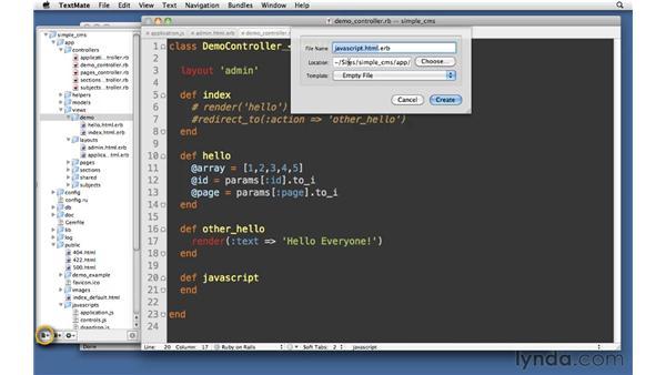 JavaScript: Ruby on Rails 3 Essential Training