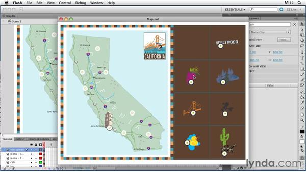 Viewing the finished game: ActionScript 3.0 in Flash Professional CS5 Essential Training