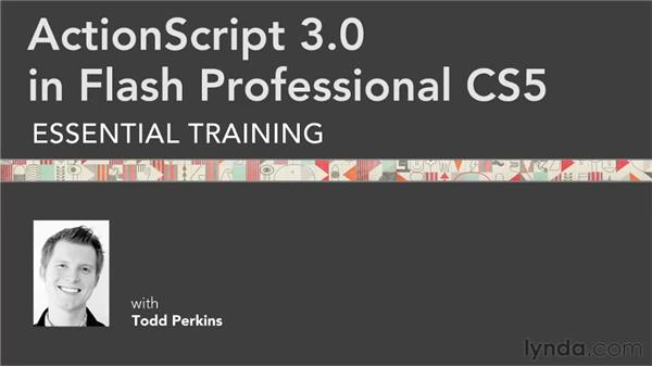 Goodbye: ActionScript 3.0 in Flash Professional CS5 Essential Training