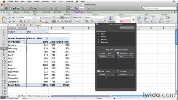 : Excel for Mac 2011 Essential Training