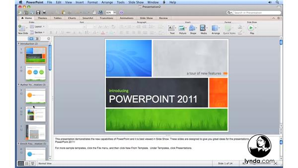 Welcome: PowerPoint for Mac 2011 Essential Training