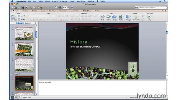 Understanding PowerPoint: PowerPoint for Mac 2011 Essential Training
