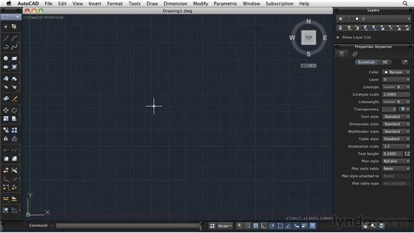 Launching the application: AutoCAD 2011: Migrating from Windows to Mac