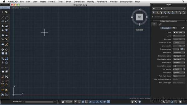 Accessing the commands: AutoCAD 2011: Migrating from Windows to Mac